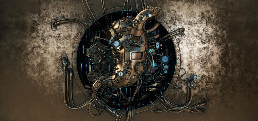 Steampunk stomach