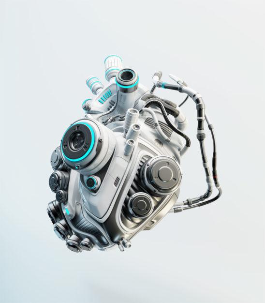 robotic organ - heart