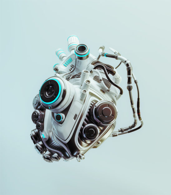 robotic heart engine