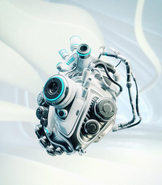 Robotic heart engine