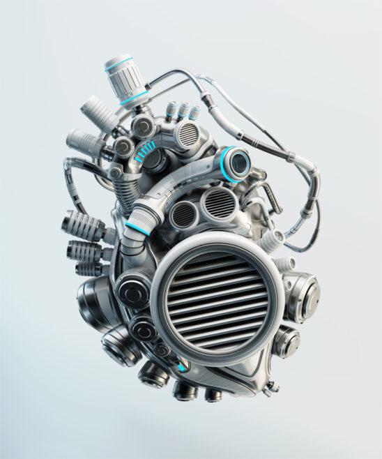 Electronic heart