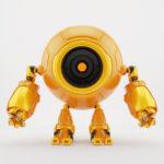 Circleodion - cute robot with big round body-head