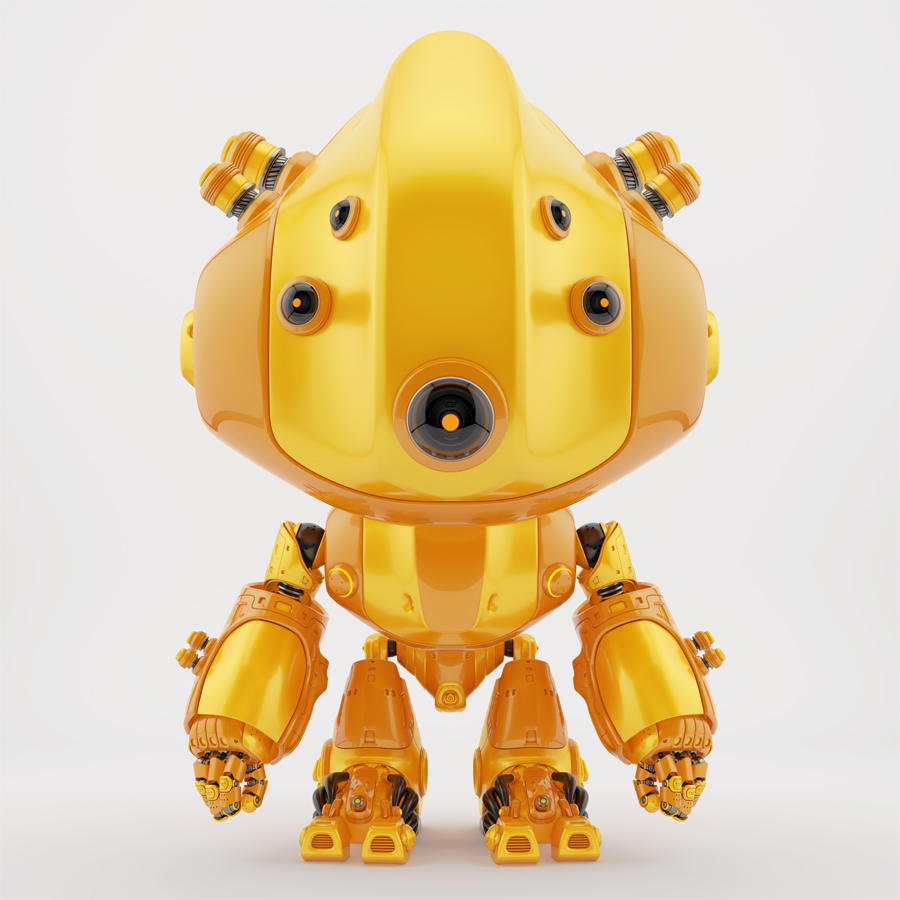 Follow bot with legs