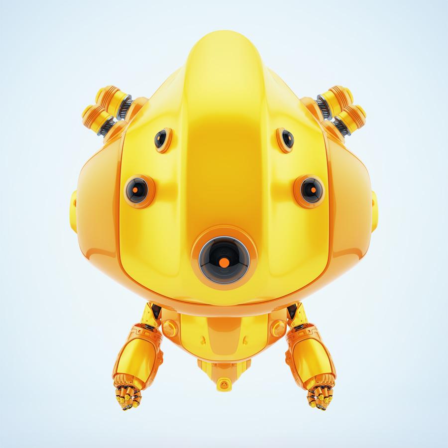 Robot the follows you anywhere