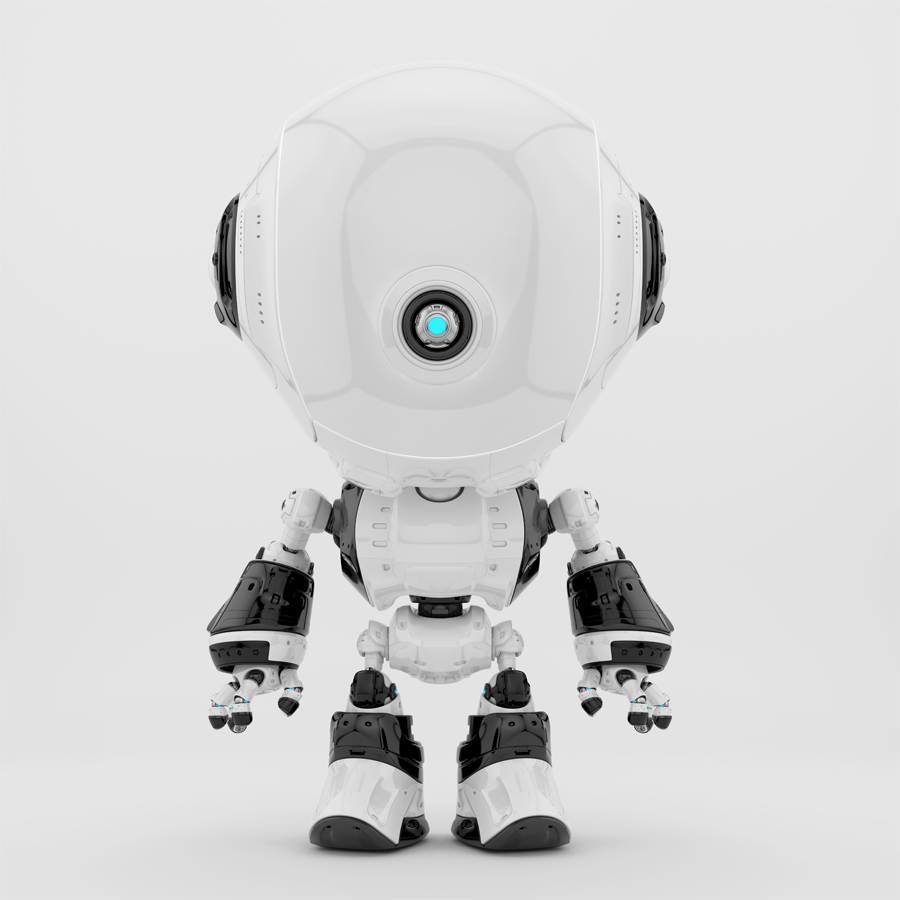 White fun bot