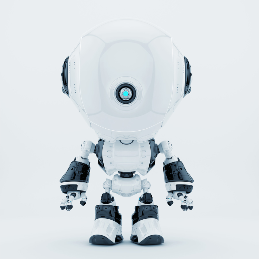 White fun bot