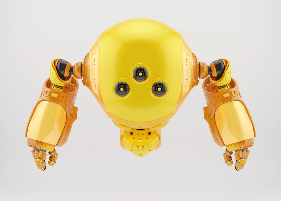 slogger-robot-character