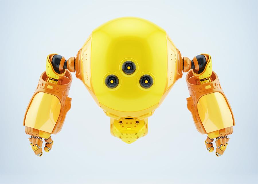 working slogger robot