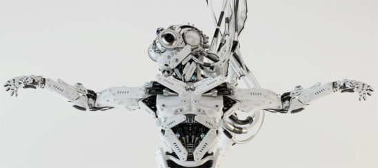 Robot dragonfly with stretched arms