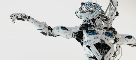 Smart humanlike robot dragonfly with powerful coolong system and wired connection