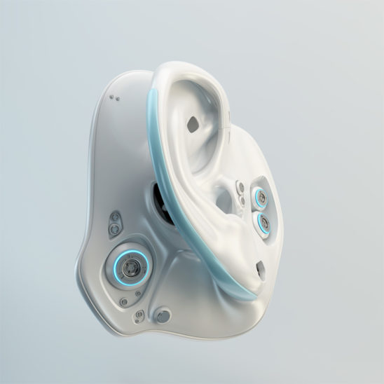 Robotic ear part