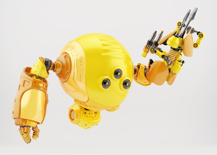 Slogger robot with instrument