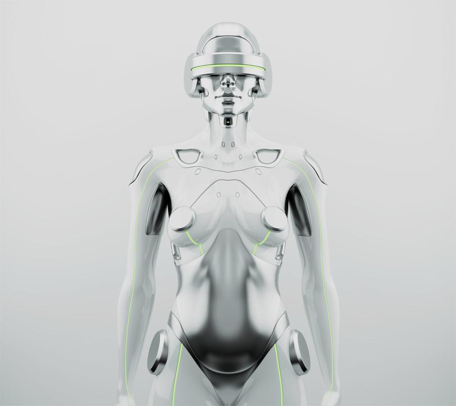 Woman robot