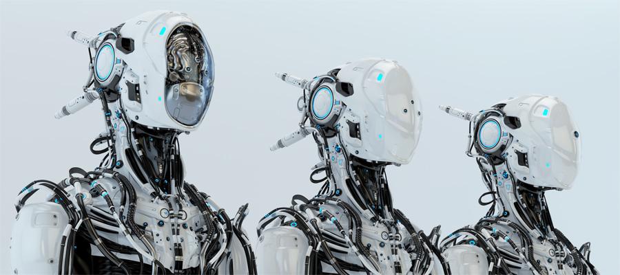 Three modifications of robot pilot