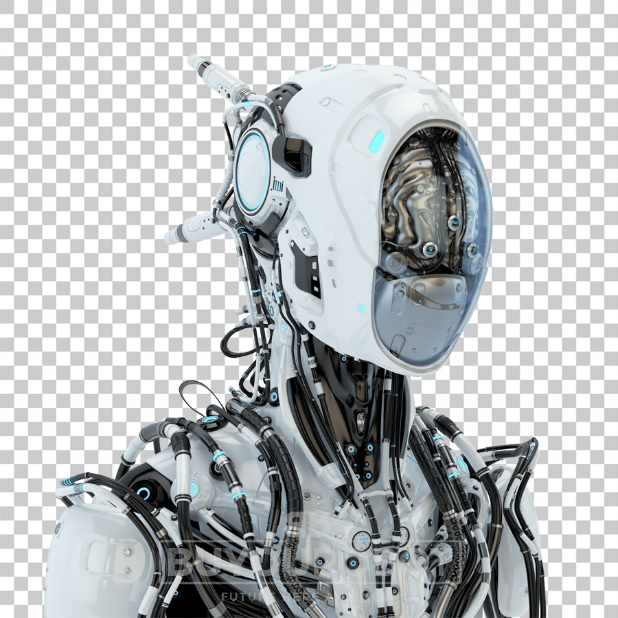 Wired pilot with steel brain in side V • Buyourobot
