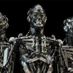 mecha robots trio