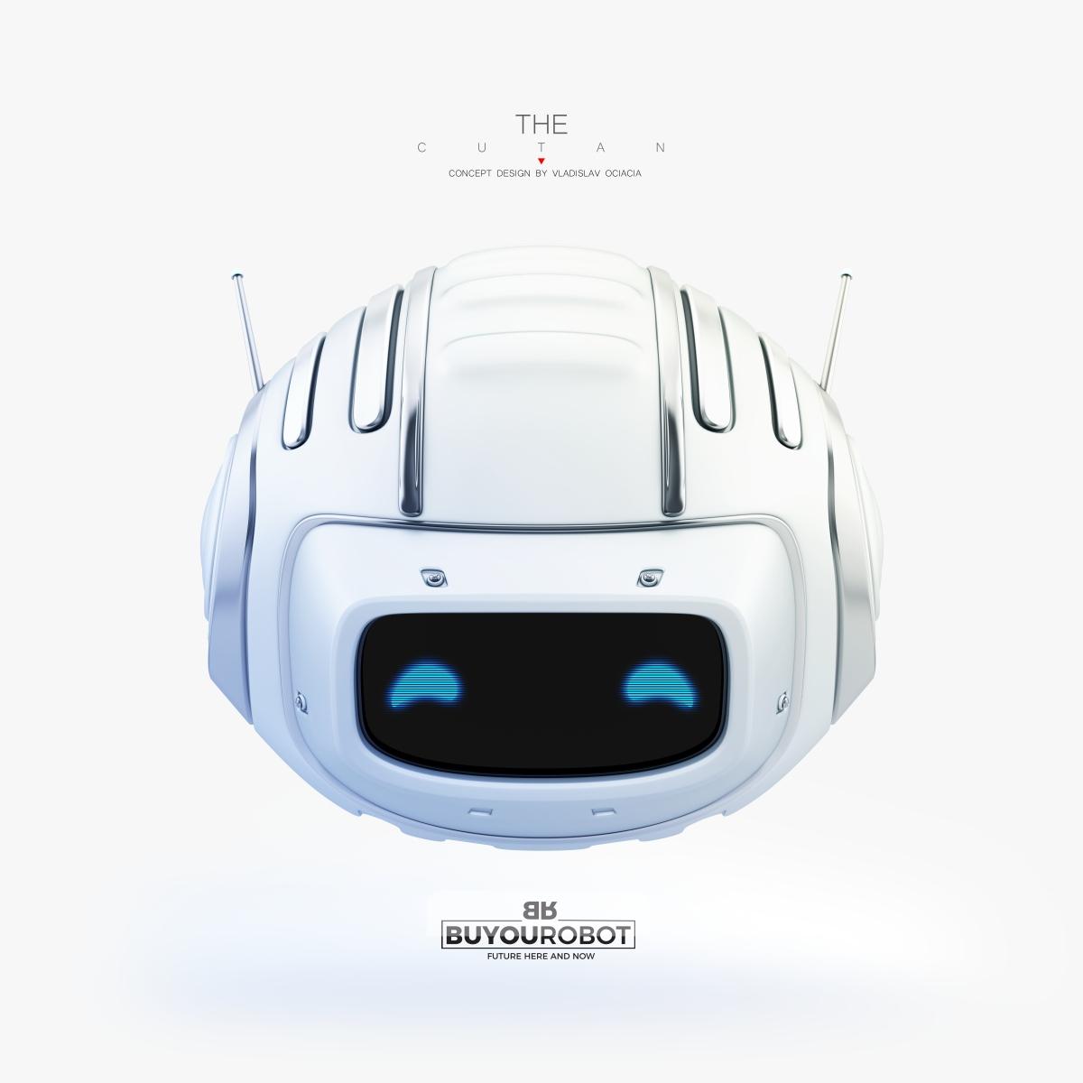 lovely cutan robotic toy 3d model 3dsmax vray fbx