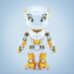 Stylish robot bbot