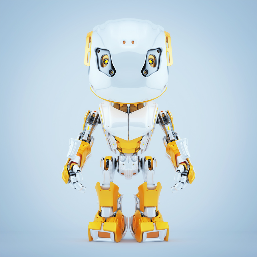 Stylish robot bbot