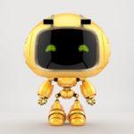 cute robotic toy - mini unit 9