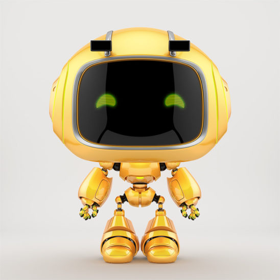 cute robotic toy - mini unit 9