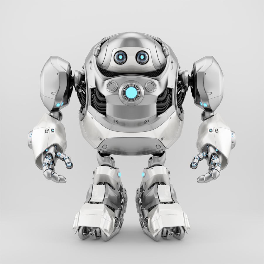 Massive robotics - huge cyber turtle