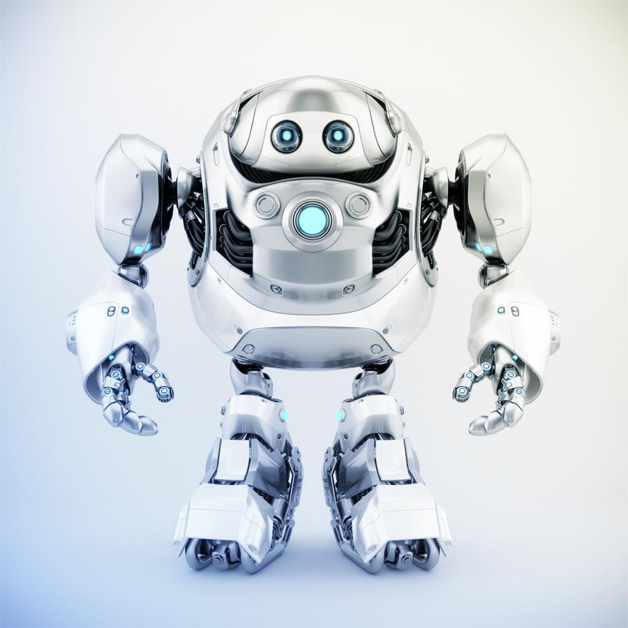 Massive robotics - huge cyber turtle, 3d rendering