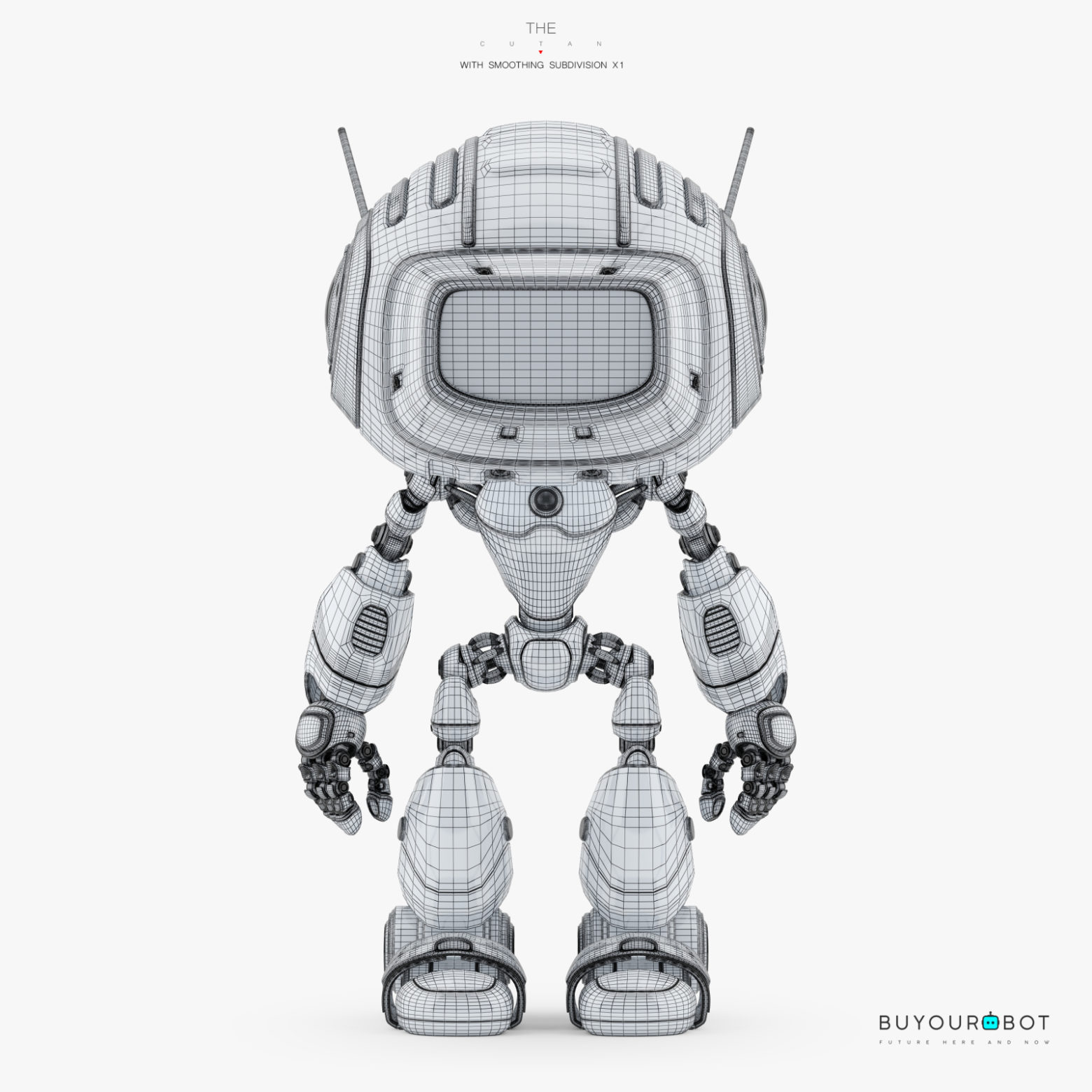 cute robot 3d model  u2022 buyourobot