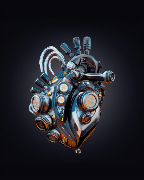 Cool robotic heart