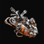 Cool robotic heart II
