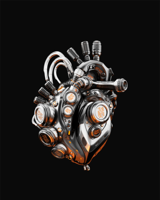Eternal metal heart