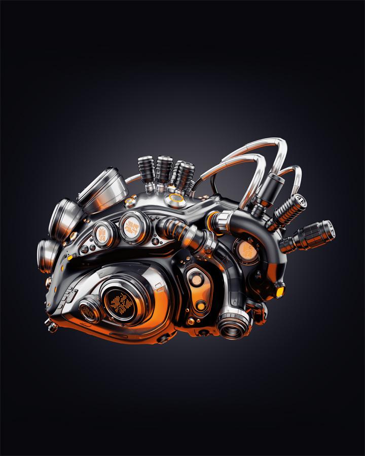 2790 robotic heart thumb