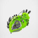 Eco green heart