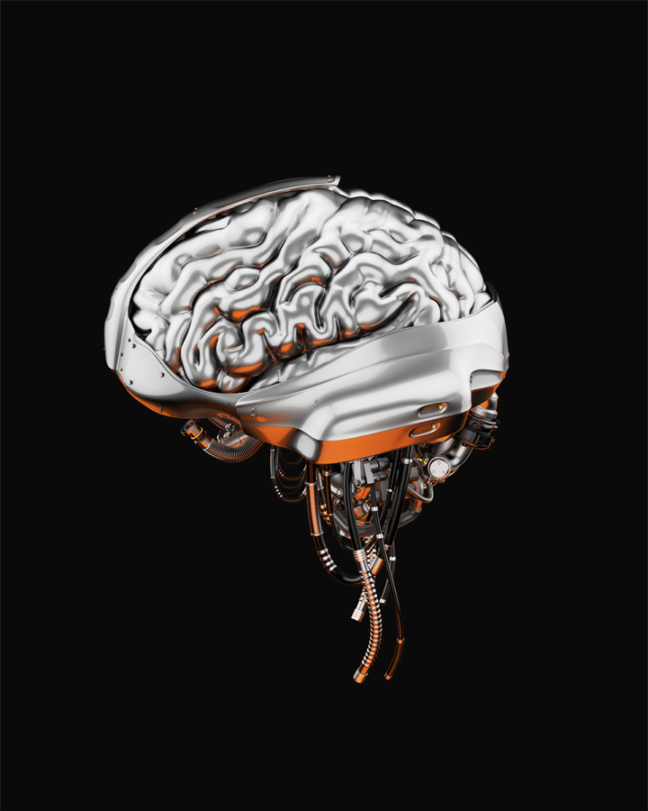 Steel artificial brain