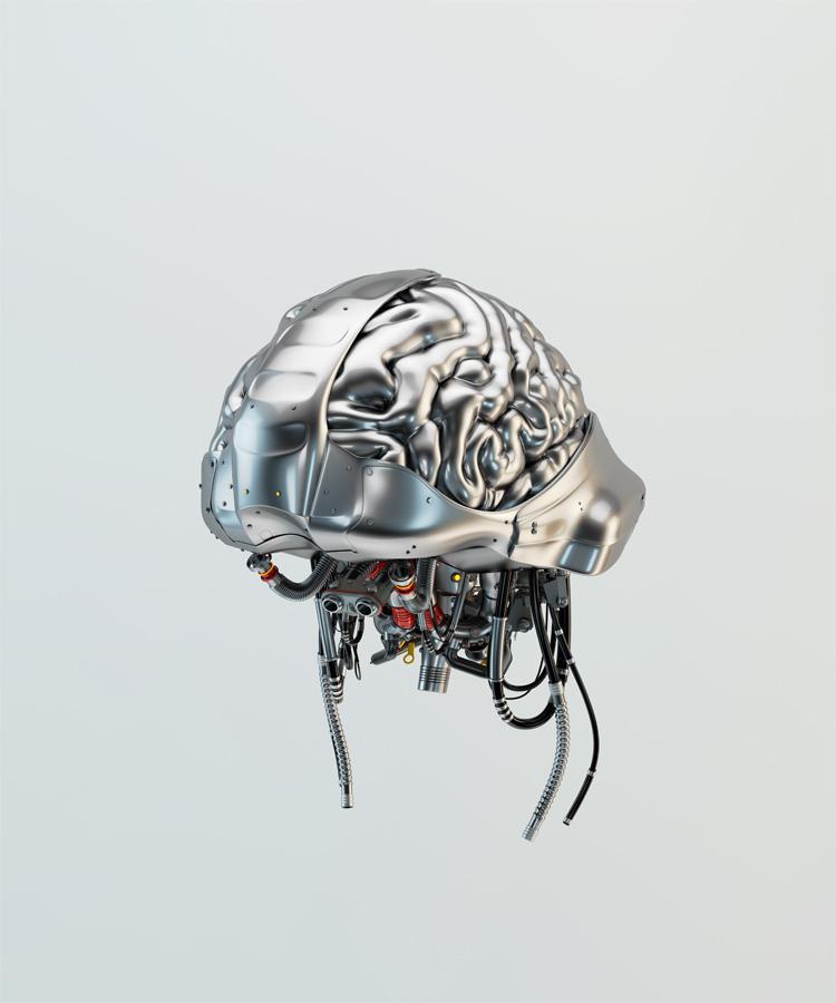 Silver brain