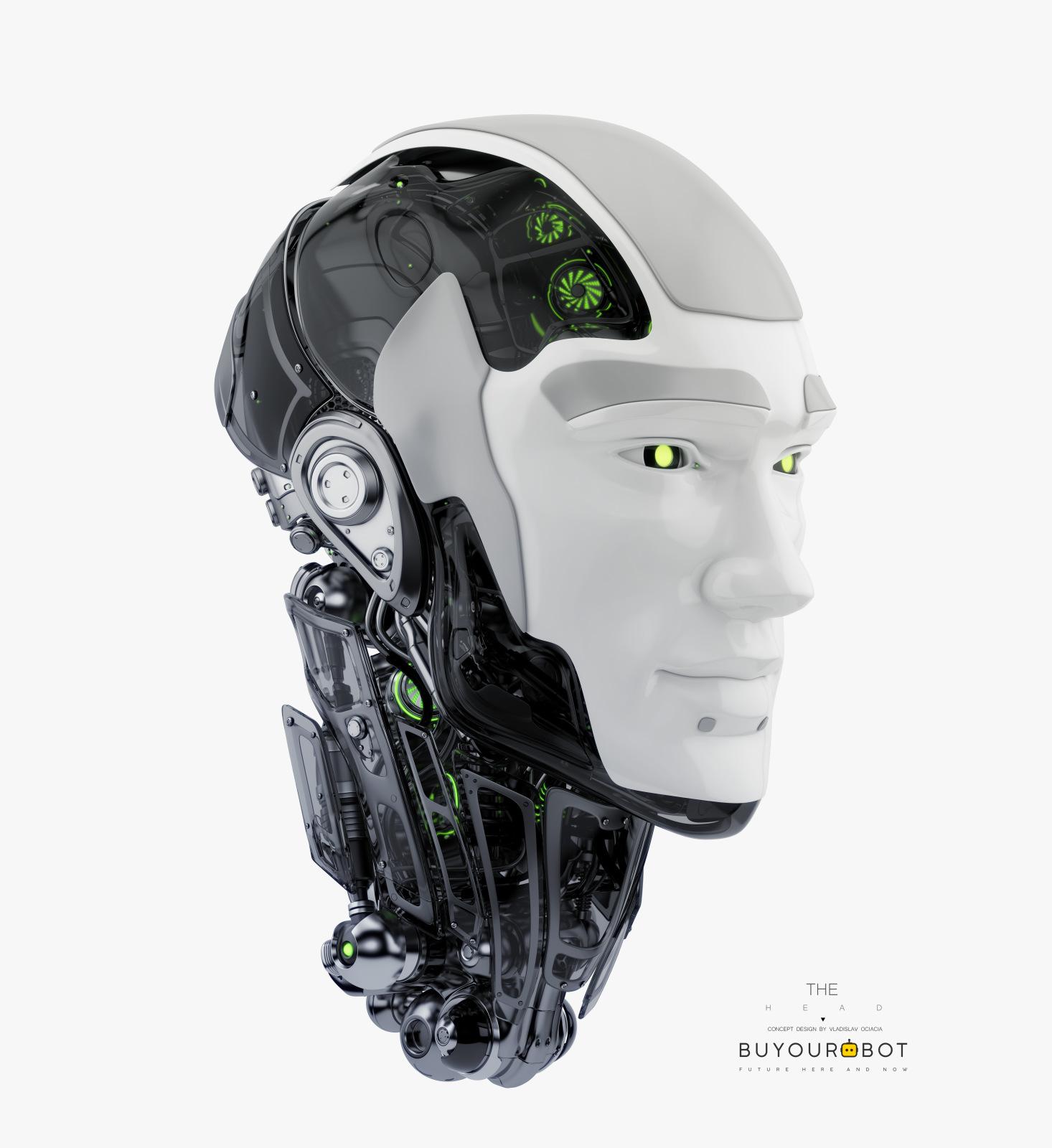 robot head 1