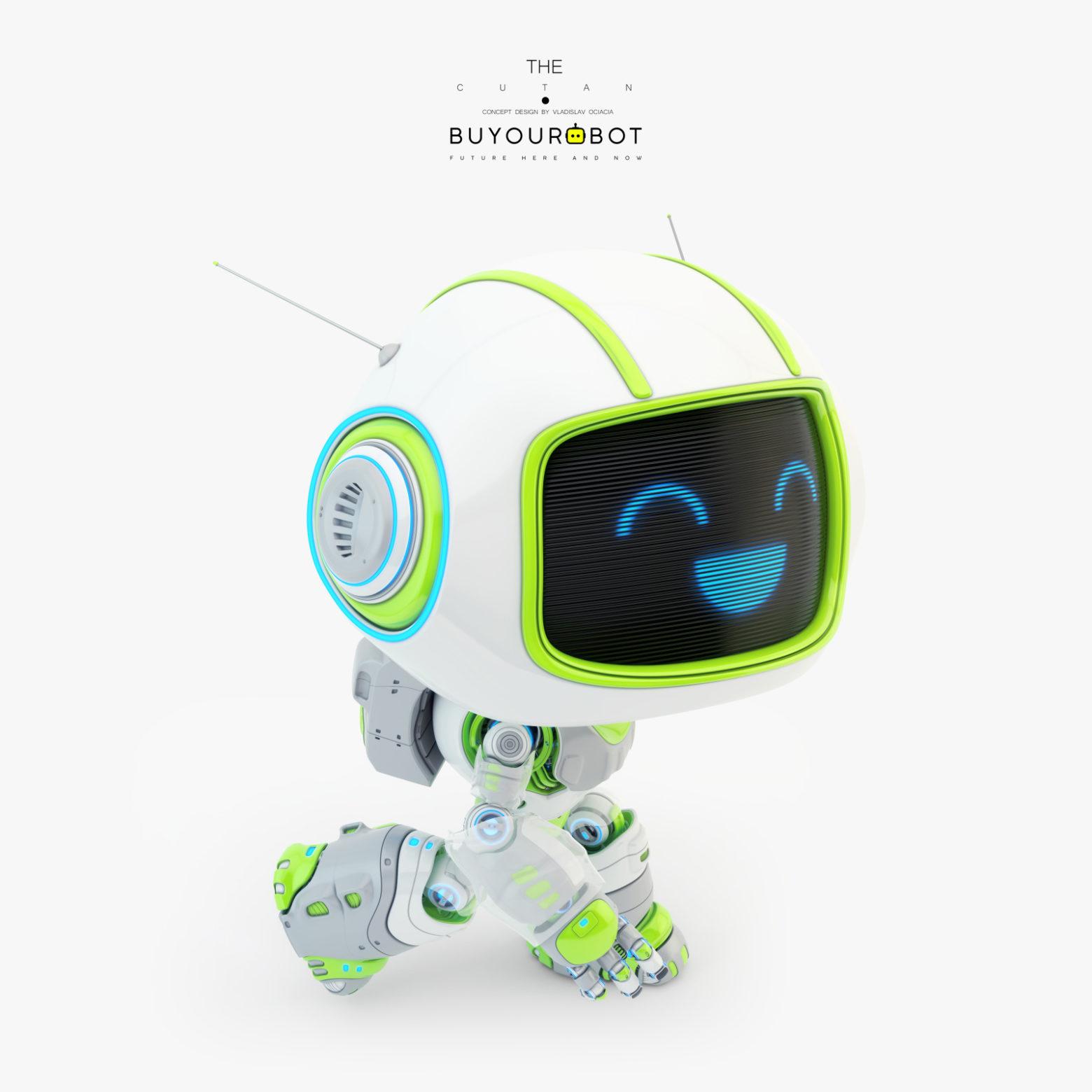 cute robot 5 4