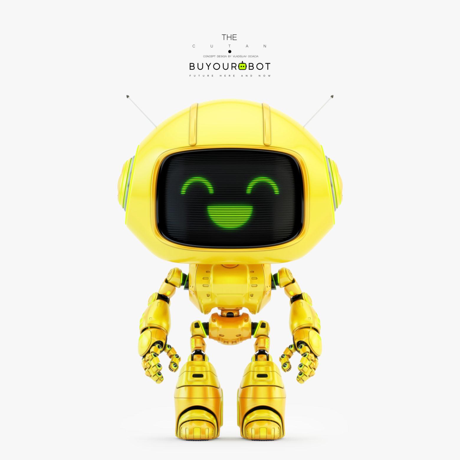 cute robot 8 1