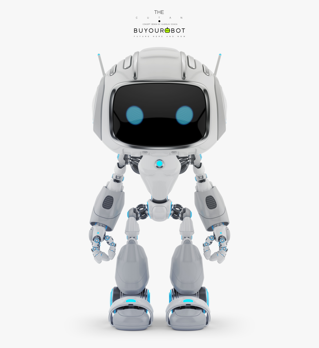 CUTE ALIEN ROBOT IV 1