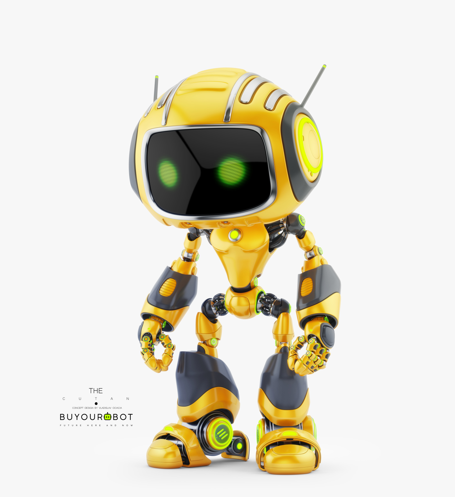 CUTE ALIEN ROBOT V 1