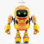 HUGE CUTE ROBOT II 3d model