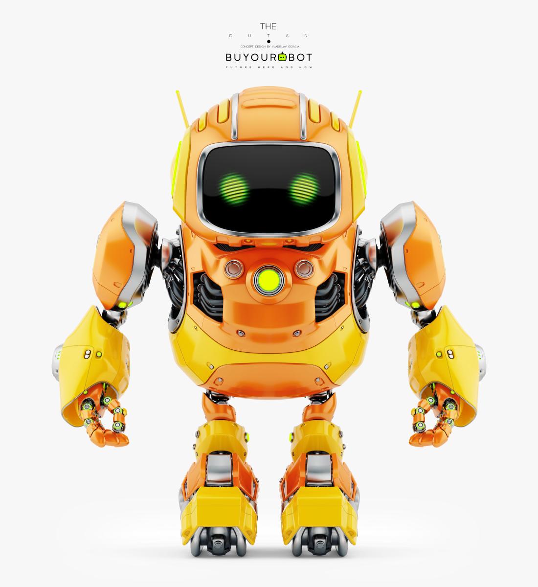 huge cute robot II 1