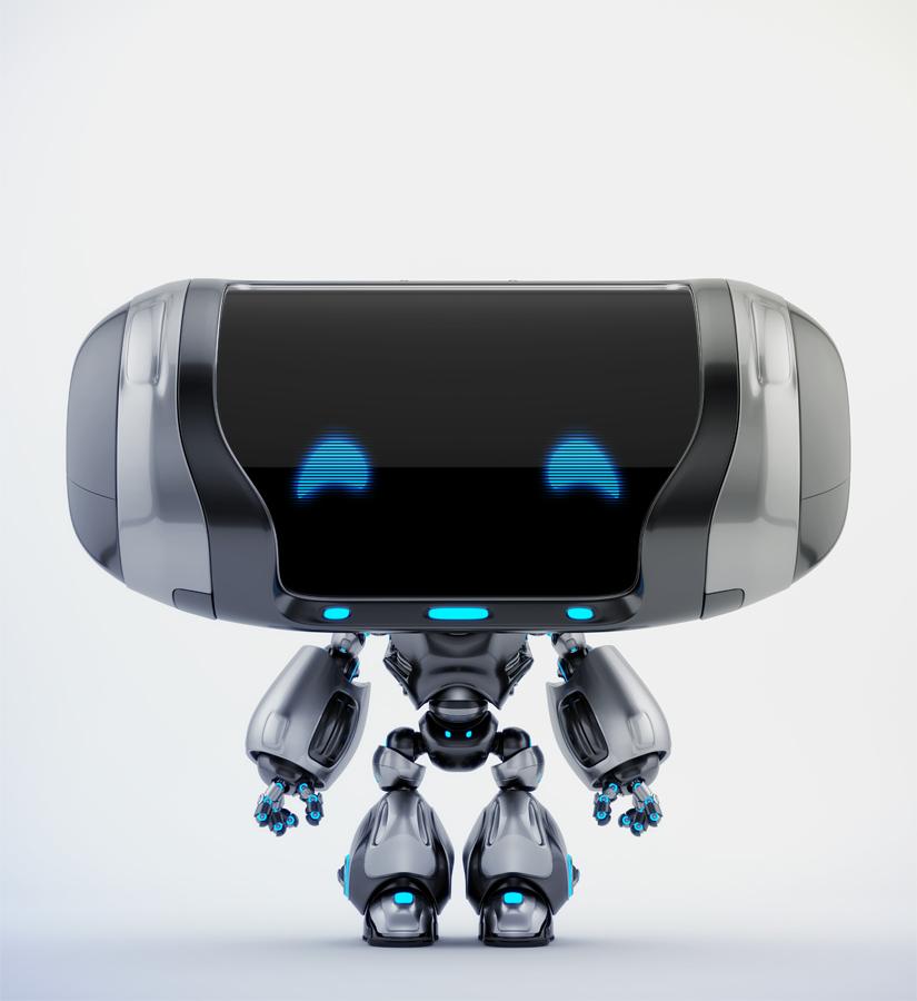 Friendly robot Cheburashka