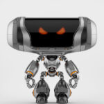Angry Cheburashka robot IV