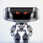Angry Cheburashka robot V