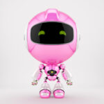 Robert bot in pink
