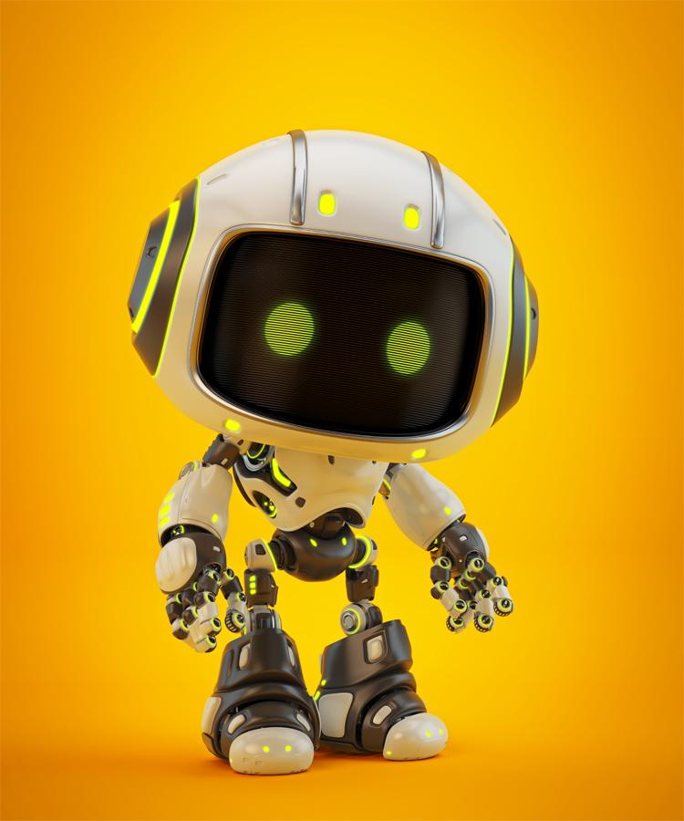 Cute bot semiside angle