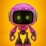 cute violet bot