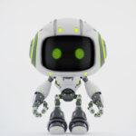 Cute white bot