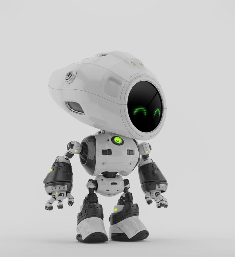 unique bot white